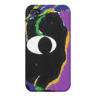 魚のパトロールのSpeckの宇宙紫色の箱 iPhone 4/4S Case