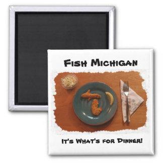 魚のミシガン州の磁石 マグネット