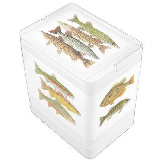 魚のモチーフのイグルーのクーラー イグルークーラーボックス