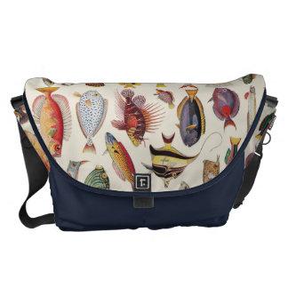 魚の変化 メッセンジャーバッグ