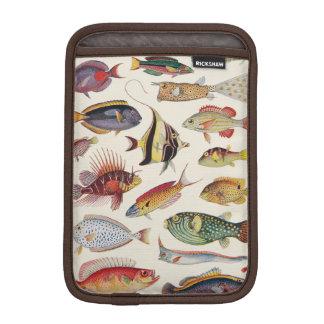 魚の変化 iPad MINIスリーブ
