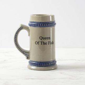 魚の女王 ビールジョッキ