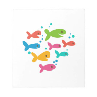 魚の学校 ノートパッド