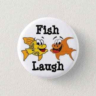 魚の笑い! 3.2CM 丸型バッジ
