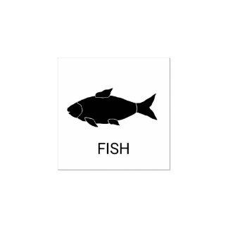 魚の結婚式の食事の選択 ラバースタンプ