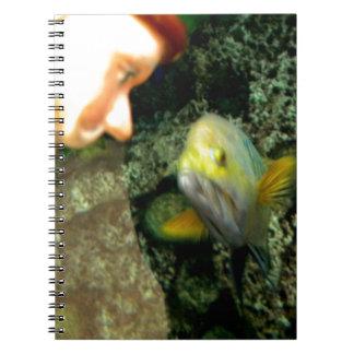 魚の顔の格言 ノートブック