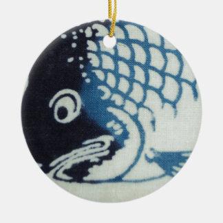 魚の顔-日本のな魚 セラミックオーナメント