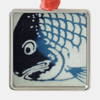 魚の顔-日本のな魚 メタルオーナメント