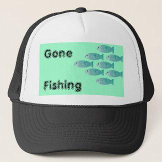 魚の魚釣りの帽子の学校 キャップ