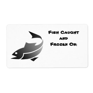 魚は分類します(日付魚の凍っていられていて) 発送ラベル