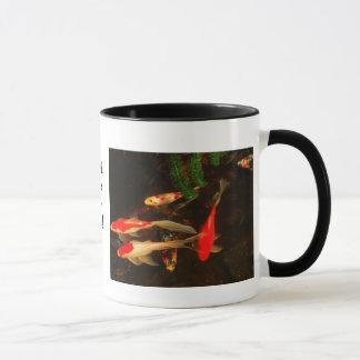 魚は私の生命です! マグカップ