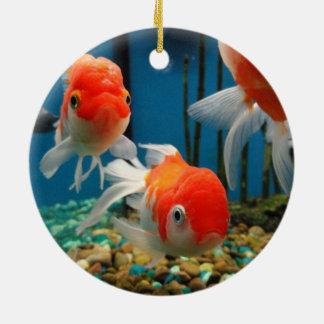 魚は行きます セラミックオーナメント