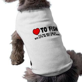 魚への愛 ペット服