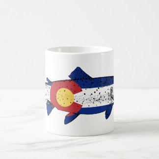 魚コロラド州 コーヒーマグカップ