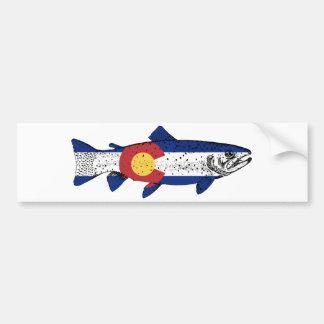 魚コロラド州 バンパーステッカー