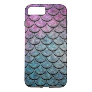 魚スケールパターン数々のな色4 iPhone 8 PLUS/7 PLUSケース