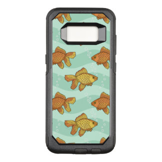 魚パターン オッターボックスコミューターSamsung GALAXY S8 ケース
