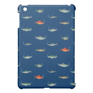 魚パターン iPad MINIケース