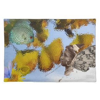 魚及びFaeryのランチョンマット ランチョンマット