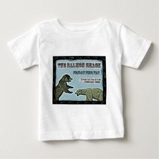 魚揚げ物 ベビーTシャツ