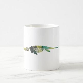魚竜の骨組 コーヒーマグカップ