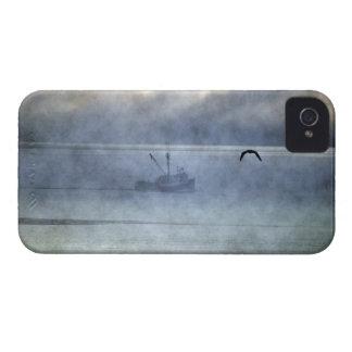 魚釣りのトロール船のノバスコシアの漁師 Case-Mate iPhone 4 ケース