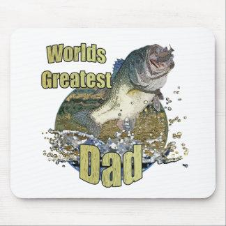 魚釣りのパパ マウスパッド