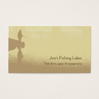 魚釣りの名刺 名刺