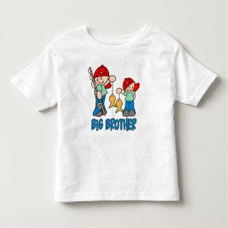 魚釣りの相棒のお兄さん トドラーTシャツ