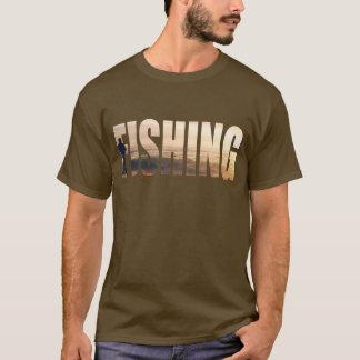 魚釣りのTシャツ Tシャツ