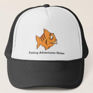 魚釣りはウェールズの夏の帽子を冒険します キャップ