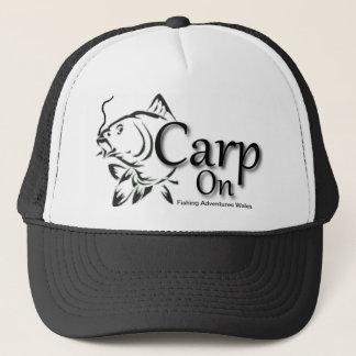 魚釣りは野球帽のウェールズのコイを冒険します キャップ