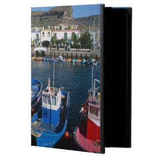 魚釣り港、プエルトde Mogan、Gran Canaria、 iPad Airケース