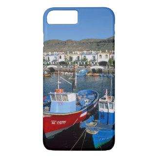 魚釣り港、プエルトde Mogan、Gran Canaria、 iPhone 8 Plus/7 Plusケース