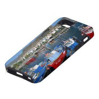 魚釣り港、プエルトde Mogan、Gran Canaria、 iPhone SE/5/5s ケース