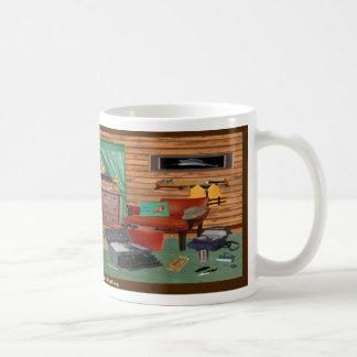 魚釣り部屋のマグ コーヒーマグカップ