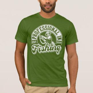 魚釣り(米国東部標準時刻のプロフェッショナル。 カスタマイズ可能な年) Tシャツ