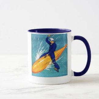 魚雷のマグの海軍人 マグカップ