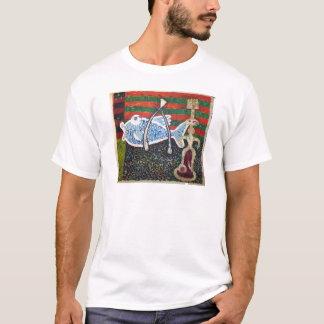 魚願いおよびMiro Tシャツ