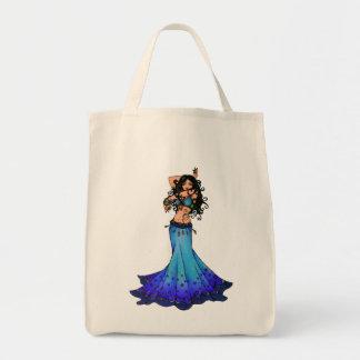 魚類のベリーダンサーの芸術 トートバッグ
