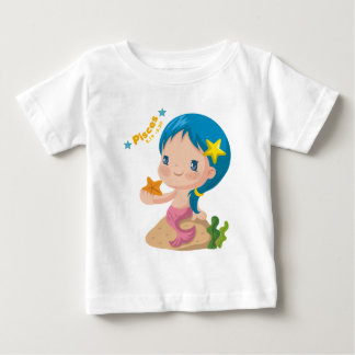 魚類の乳児のTシャツ ベビーTシャツ