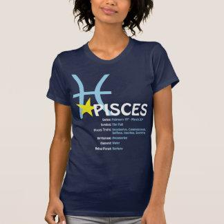 魚類の特性の女性Tシャツ Tシャツ