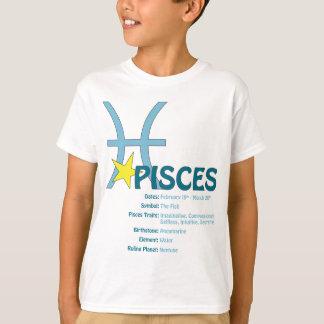 魚類の特性の子供のTシャツ Tシャツ