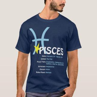 魚類の特性の暗闇のTシャツ Tシャツ