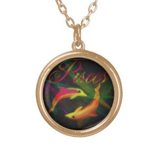 魚類の金ゴールドの鎖の美しいネックレス ゴールドプレートネックレス