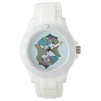 魚類の魚 腕時計