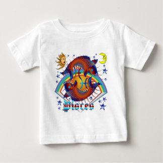 魚類(占星術の)十二宮図V 1 ベビーTシャツ