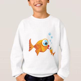 魚-オリーブ及びピクルス:: スウェットシャツ