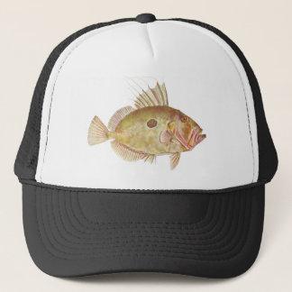 魚-ジョン小舟-ゼウスフェーバー キャップ