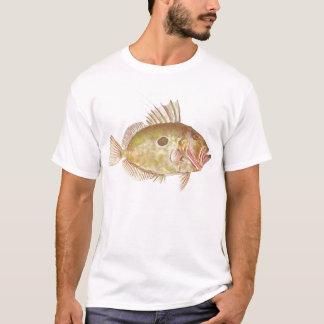 魚-ジョン小舟-ゼウスフェーバー Tシャツ